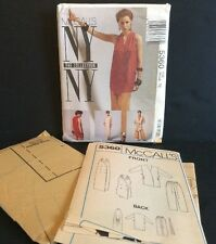 McCalls 5360 Sewing Pattern NY 16 Jacket Tie Belt Dress Top Pants Outfit FF