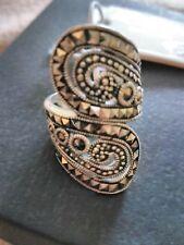Swarovski Marcasite Sterling Silver Ring Size 6