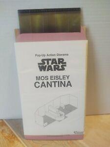 Star Wars 1997 Kenner Mail-Away MOS EISLEY CANTINA POP-UP ACTION DIORAMA