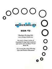 CCM T2 Paintball Marker O-ring Oring Kit x 2 rebuilds / kits