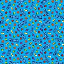 New listing Nestle Fun Size Runts Friends Toss Candy Cotton Fabric Fat Quarter