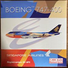 Phoenix 1:400 Singapore Airlines Boeing 747-400 9V-SPL
