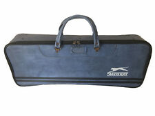 Rare Retro 1970's Slazenger Racket Sports Bag Made In England Blue Squash Case @