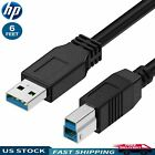 6ft SuperSpeed USB 3.0 Type A to B Male Cable for Cameras/Printers/Scanners