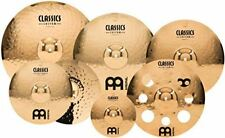 """Meinl Cymbals Cymbal Set Box Pack with 14"""" Hihats, 20"""" Ride, 18, Plus a Free 16"""""""