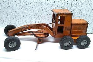 Vintage Tonka Diesel No. 600 Road Grader 1955  ~ Original.