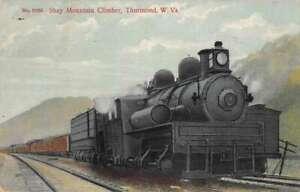 Thurmond West Virginia Shay Mountain Climber train Vintage Postcard AA41368