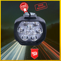 Electric Bicycle Led Ebike Headlight Front Light  Lamp 24v 36v 48v 60v 72v 15w
