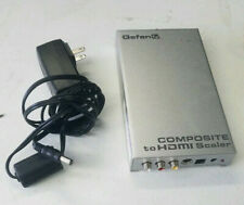 Gefen Composite S-Video  Audio to HDMI Adapter Convert GTV-COMPSVID-2-HDMIS WHC