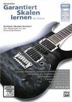 Garantiert Skalen lernen - Der Wegweiser für das Gitarrengriffbrett - mit DVD