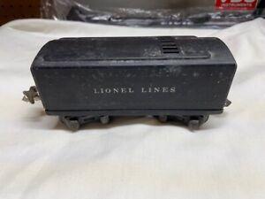 Lionel Lines Tinplate Tender 1689W