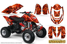 CAN-AM DS650 DS650X CREATORX GRAPHICS KIT DECALS INFERNO R