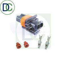 1 x 2 Pin Injector Connector Plug for Renault Bosch Diesel Injectors No Shroud