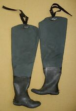 FROGG TOGGS Green Steel Shank WADER BOOTS Wading Fishing Hunting Shoes Size 7