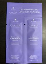 Alterna Caviar Restructuring Bond Repair Shampoo & Conditioner .25 fl oz 7 ml ea