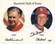 STAN MUSIAL Signed Autographed 8x10 Photo PSA/DNA St. Louis Cardinals HOF X61615