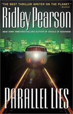 PARALLEL LIES Ridley Pearson stated 1st Edition 2001 Mystery Hardcover & Jacket