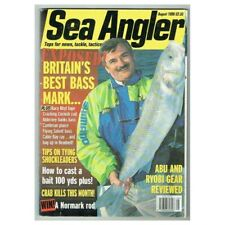 Sea Angler Magazine August 1998 mbox313 Britain's Best Bass Mark
