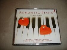 Romantic Piano 39 Love Songs 3 CD Set UPC 011891601092 TGG60109