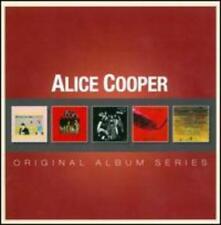 Alice Cooper Original Album Series 5cd Set Rhino UK