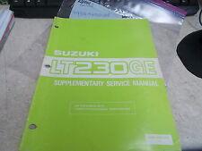OEM Suzuki Supplementary Service Manual(Pg1-24)1985 LT230GE 99501-42010-01E