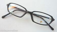 Brillen Fassung Rahmenlos Brille Schmal Titan Gestell Braun Nickelfrei Unisex Size M BüGeln Nicht