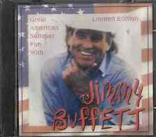 JIMMY BUFFETT Great american summer fun with CD Sealed