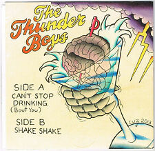 "Thunder Boys 7"" Garage Punk Colored Vinyl Heartbreakers Gearhead Records Signed"