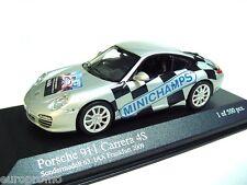 """1:43 MINICHAMPS 2008 PORSCHE 911 997 Carrera 4S """"IAA 2009"""" RARE PROMO MODEL !"""