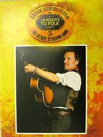 "Bruce Springsteen ""18 Nights To Folk "" Raro DVD Mint"