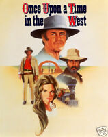 Once upon a time in the west #04 movie poster print