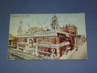 VINTAGE 1912 HIPPODROME  NEW YORK   POSTCARD