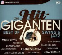 DIE HIT GIGANTEN BEST OF SWING & JAZZ  3 CD NEU