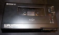 Vintage SONY Professional Cassette Walkman WM-D6 Player Recorder, Case, More!