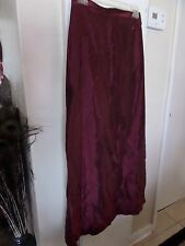 J.R.Nites New Women's Maxi Long Skirt Red Classic Party Wedding Ladies size 6