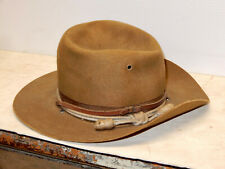 Antique World War 1 Fedora Campaign Hat Ferry Hat Contract Identified