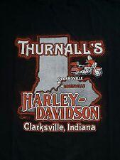 Vintage Harley Davidson Indiana 80s T Shirt Men Size 3Xl