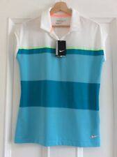 Women's NIKE GOLF Polo top  Dri Fit Size Large