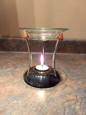 Sleek & Modern: Stone & Glass Aroma Oil Burner