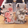 3D Fashion Rose Flower Pattern TPU Cell Phone Case Cover For iPhone 6 6S 7 Plus