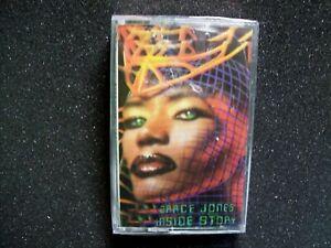 Grace Jones Inside Story 1986 Cassette Tape Funk Synth-Pop Electronic Sealed