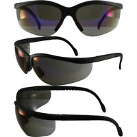 BLUE MOON SAFETY GLASSES SUNGLASSES GLOBAL VISION BLUE MIRROR