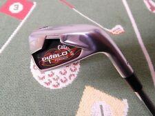 """Used Callaway Diablo Forged Iron (6 Iron)/RH/NS Pro 1100 GH Uniflex (-1/2"""")"""
