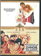 DVD NEUF L'HOMME DE RIO + LES TRIBULATIONS D'UN CHINOIS EN CHINE