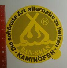 Aufkleber/Sticker: Dan skan Kaminöfen die schönste Art alternativ (180916198)