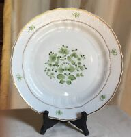 """Hollohaza, Hungary, """"Scarbantia"""" dinner plate.Herend style and quality.10 1/4"""" d"""