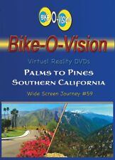 "Bike-O-Vision Cycling Video, ""Palms to Pines, Southern Californ"" Widescreen DVDs"