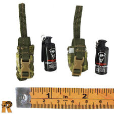 Ghosts Death Squad K - Smoke Grenades x2 - 1/6 Scale - Flagset Action Figures