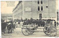 54 - cpa - TOUL - Quartier de Rigny après la manoeuvre