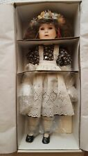 "Vintage Marie Osmond Porcelain Doll Autumn Amber ""Four Seasons Collection"" Doll"